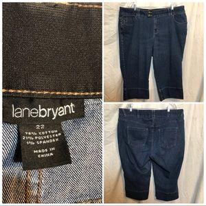 Lane Bryant jean capris size 22